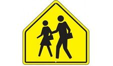 "Retired DOT Road Sign ""School Crossing"" Smaller version 24""x30"""