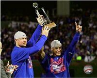 "Jon Lester & Javier Baez Chicago Cubs Celebration Photo (Size: 8"" x 10"")"