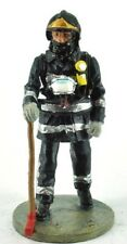 "Fire fighter Figurine Fireman Lisbon Portugal `04 Lead Del Prado 1/32 2.75"" B106"