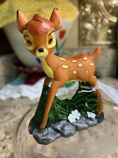 """Disney Bambi Resin Mini Garden Figure 3-1/2"""" B7"""