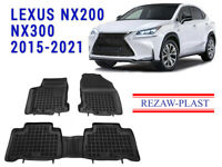 All Weather Floor Mats Liners Set For Lexus NX 200t 300h 2015-2021 Suv 3D Black
