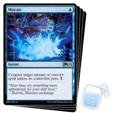 MISCAST X4 Core Set 2021 M21 Magic MTG MINT CARD