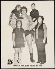 Andre the Giant Original Vintage Wrestling Photo