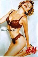 6a57419040ea1 Original vintage poster SEXY LINGERIE H&M 1999 Kylie Minogue ...