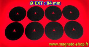 JEU DE 8 CALES / REEL SPACER / NAB - TRIDENT / EPAISSEUR 0.3 mm / Ø 84
