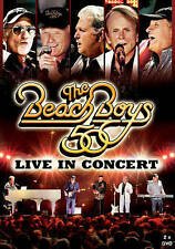 The Beach Boys: Live in Concert - 50th Anniversary (DVD, 2012, 2-Disc Set)