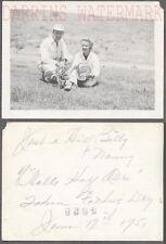 Vintage Snapshot Photo Hillbilly Man & Woman Hells Half Acre 728902