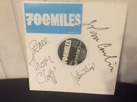 700 Miles Blue Vinyl Promo 1993 Signed By Band-Justin Guip~Tom Clapp~John Carlin