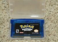 Pokemon Sapphire Version (Game Boy Advance, 2003) Cartridge Only (Authentic) GBA