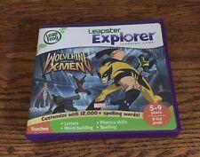 LEAP FROG Leapster Explorer Wolverine & The X-men Leap Pad 5-9
