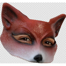 Half face quality mr fox mask GH-R27622 adult size by goulish mexico