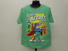 NEW PHINEAS AND FERB MISSION MARVEL KIDS YOUTH SIZE 7 SHIRT