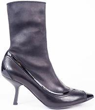 Women's 100% Leather Kitten Heel Shoes