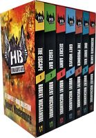 Robert Muchamore Hendersons Boys 7 Books Collection Box Set Pack Scorched Earth