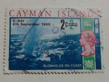 CAYMAN ISLANDS - QUEEN ELIZABETH 11 - STAMP - 2c WAS 2d