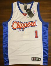 Rare Vintage Adidas NBA Los Angeles Clippers Baron Davis Basketball Jersey