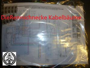 Zündapp KSS0 SS TT Kabelbaum Kabelsatz Nachbau incl. farbigem Schaltplan