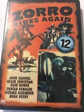 Zorro Rides Again (DVD, 2000, 12 chapter serial)