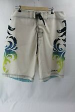 Speedo Board shorts swimwear size 36 mens swim shorts white, blue, green