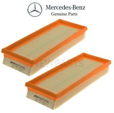 For Mercedes R172 SLK55 AMG 12-16 Pair Set of 2 Air Filters Genuine 1520940004