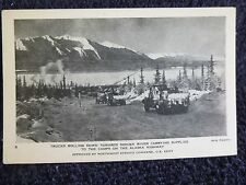 1940's U.S. Army Trucks on the Alaska Hwy at Donkek River in the Yukon, Canada
