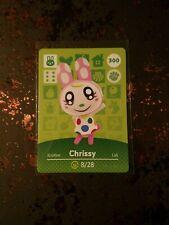 Chrissy amiibo card
