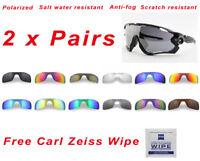 d9ff61354c 2 x Polarized Replacement Lenses For-Oakley Jawbreaker 9290 Sunglasses  PremiumHD