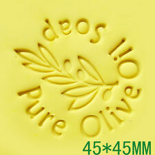 Olive Oil Soap Stamp For Handmade Soap Candle Candy Stamp Fimo Stamp