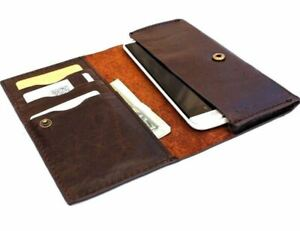 Genuine Vintage Leather Case for Samsung Galaxy Note 3 Book Wallet Handmade Slim