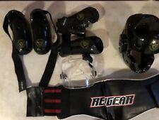 8 Pc Youth Martial Arts / Sparring / Karate Gear-Helmt,Shoes,Gloves,B elt,Uniform