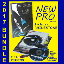 SIGN PLOTTER UPGRADE! #1 WinPCSIGN PRO #1 UNLIMITED SOFTWARE w/ GRS 2017 BUNDLE