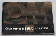 OLYMPUS OM-2 Original Camera Guide Manual Instruction Photography Book