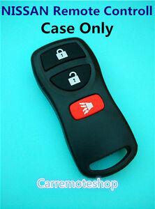 NISSAN X Trail Pathfinder Tiida Murano 3 button Remote Case Shell