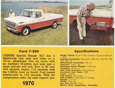 1970 Ford Truck F-250 Truck  Magnet