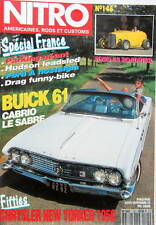 NITRO BUICK 61 CABRIO LE SABRE FORD A HUDSON FORD 32 CHRYSLER NEW YORKER 1956