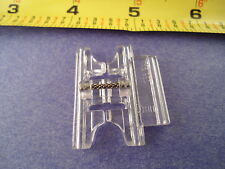 9mm Pfaff Clear Snap on Pintuck Foot with Decorative Stitch Guide #93-036944-91