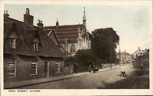 Alford. West Street in RA Series for M. Rutter, Alford.