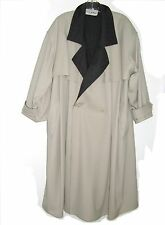 GIANFRANCO FERRE TRENCH COAT PURE LANA WOOL MADE IN ITALY MENS SIZE 42 ITALIAN