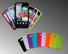 Softcover Cover für Samsung Galaxy S2 i9100 GLANZ  viele Farben! NEU