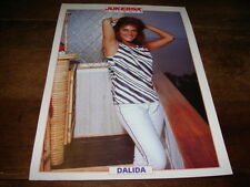 DALIDA - MINI POSTER COULEURS !!!! JUKEBOX !!!!!!!!!!!!