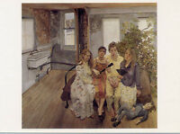 Lucian Freud•Large Interior (After Watteau) 1981•British Painter•20th C POSTCARD