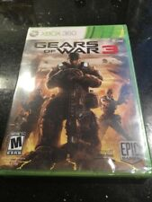 Gears of War 3 Microsoft Xbox 360 Brand New Factory Sealed