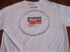 Vintage  shirt YAMAHA 125 YEARS OF PASSION & PERFORMANCE SZ LG