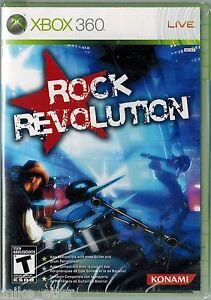 Rock Revolution (Xbox 360, 2008) Factory Sealed