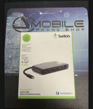 New listing Belkin F4U098Bt Usb 3.0 Docking Station
