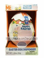 DESPICABLE ME* Minion Made EGG DISPENSER Candy/Jelly Beans *NOT* Included EASTER