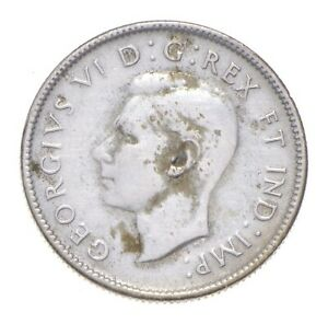 Better Date - 1941 Canada 25 Cents - SILVER *445