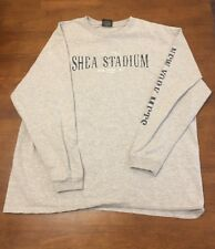 Shea Stadium New York Mets Long Sleeve Shirt Est. 1964 EUC! MLB 2004 XL
