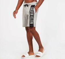 Calvin Klein Swim - Block Logo Jersey Short (Grey) Mens