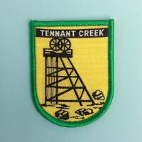 TENNANT CREEK NT AUSTRALIA Woven Cloth Patch Badge Sew-on New Never Used